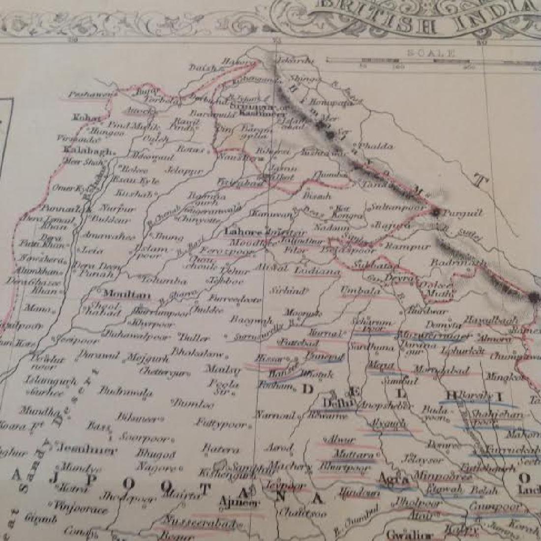 J Rapkin - Antique Map of British India - 4