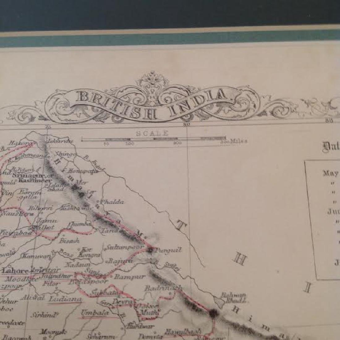 J Rapkin - Antique Map of British India - 5