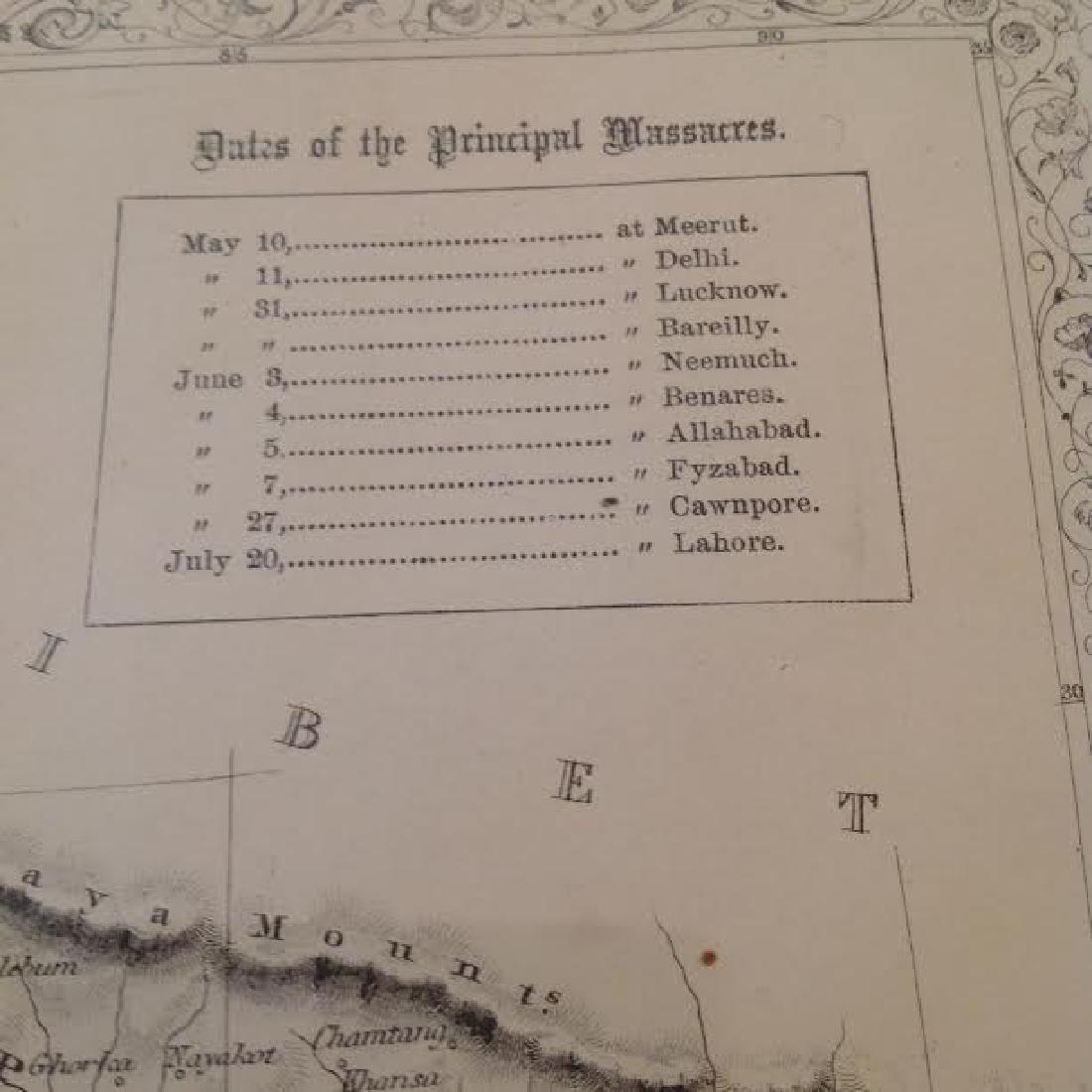 J Rapkin - Antique Map of British India - 6