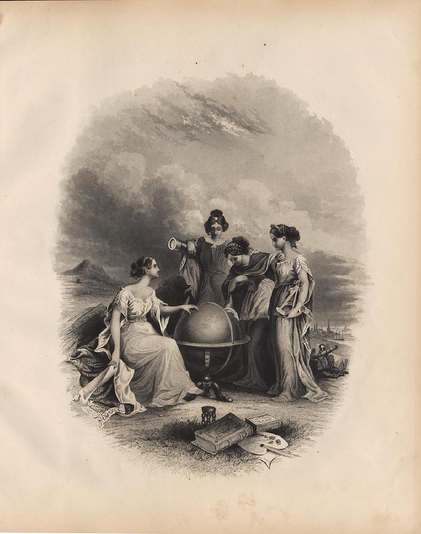 Frontispiece from Colton's Atlas of the World 1856 - 4