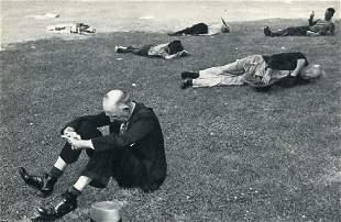 CARTIER-BRESSON: Boston Common, 1947