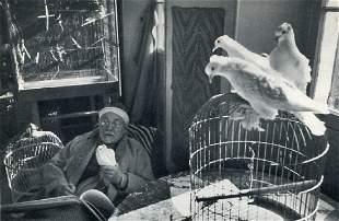 CARTIER-BRESSON: Henry Matisse, Vence 1944
