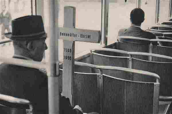 CARTIER-BRESSON: On the Tram, Zurich
