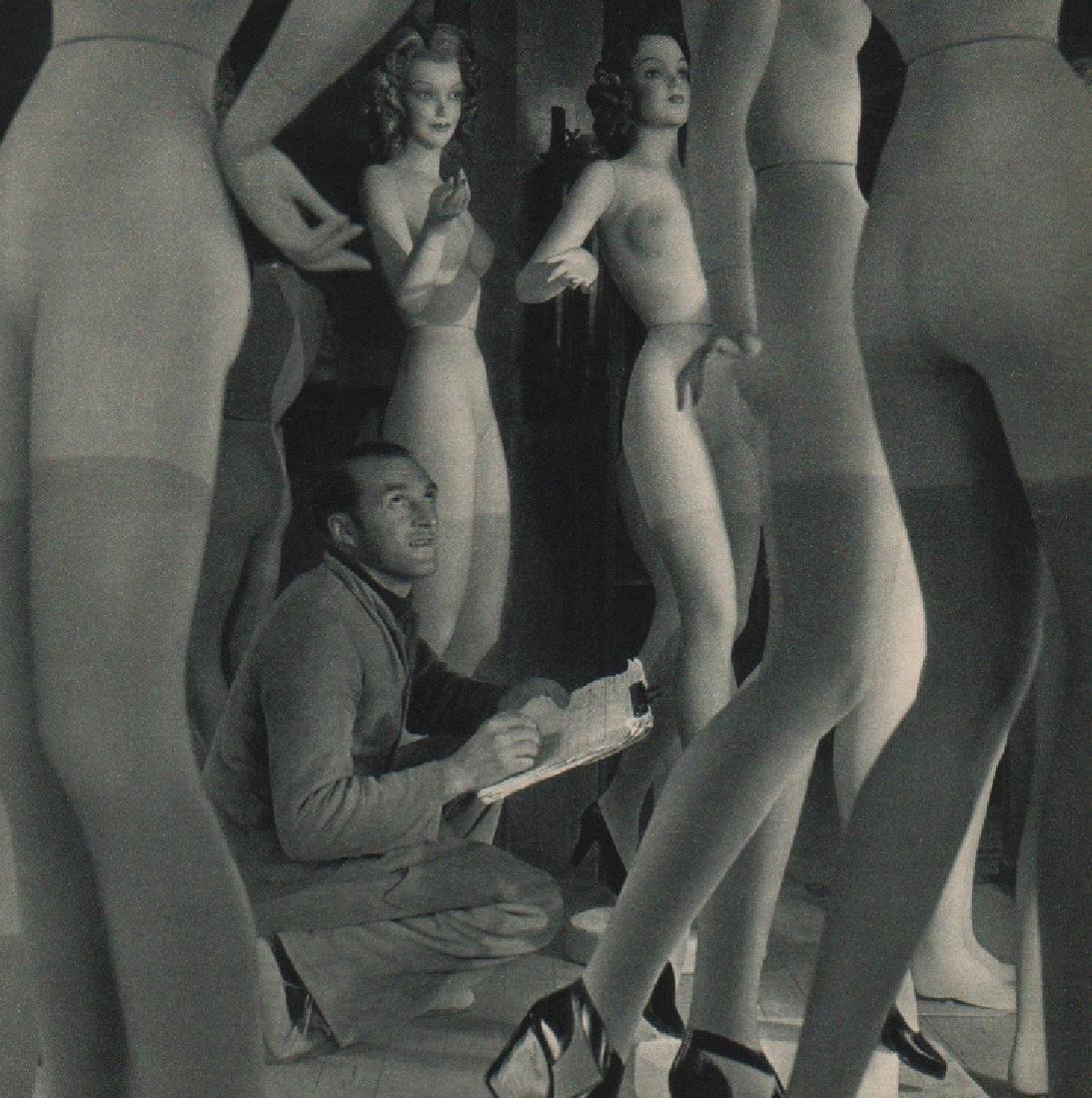 ROBERT DOISNEAU: Pierre Imans, Window Dresser