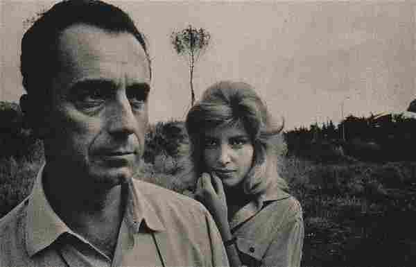 ROBERT FRANK: Michelangelo Antonioni & Monica Vitti