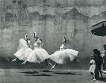 ANDRE KERTESZ: Ballet, 1938 New York