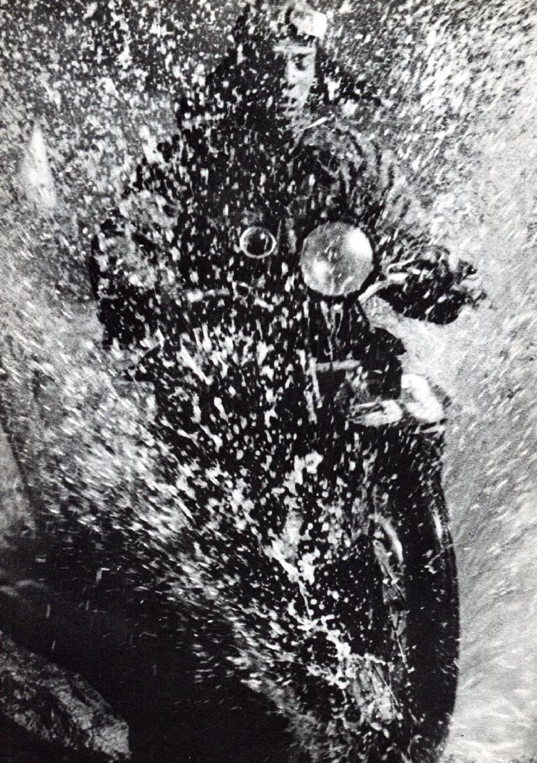 MARTIN MUNKACSI: Motorcycle Rider