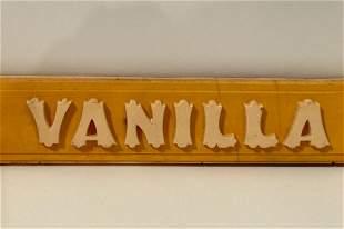 Vanilla Sign