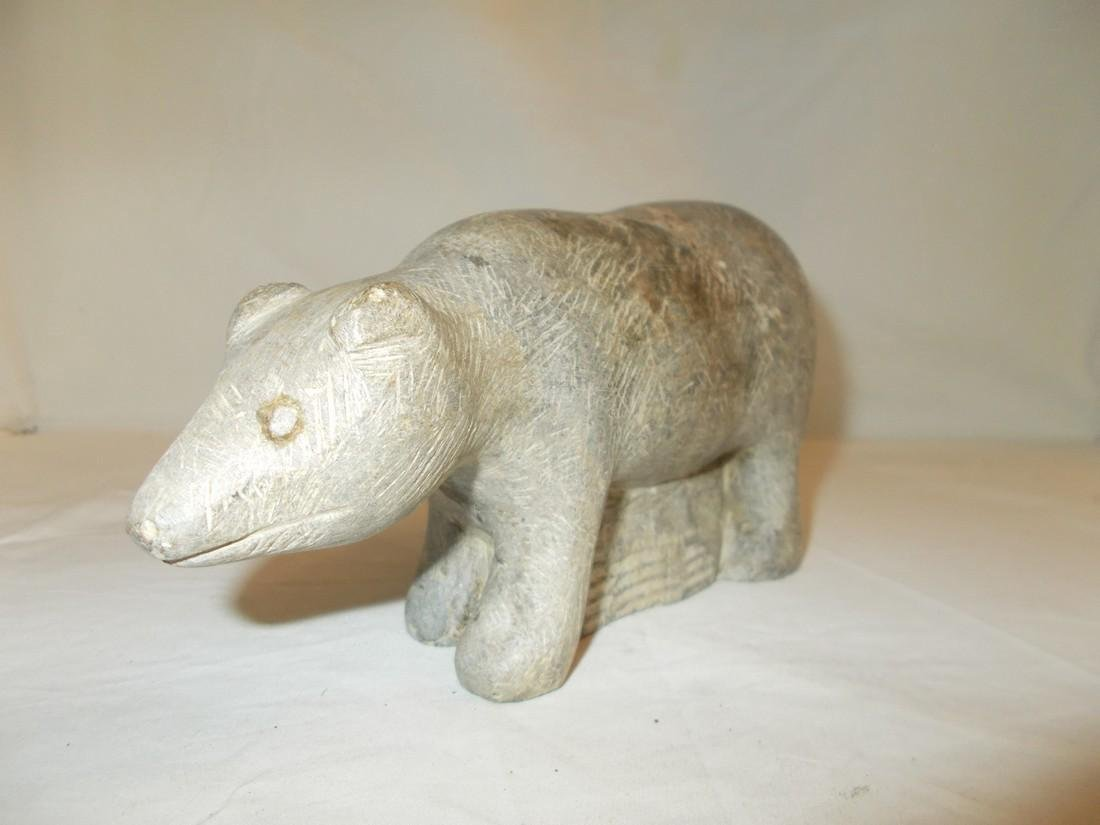 Carved Soapstone figure - 2