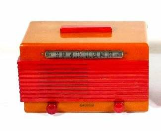 Garod Model 6AU1 Catalin/Bakelite Radio