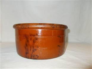 Redware Butter Crock