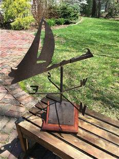 Boat Weather Vane with Wind Directionals