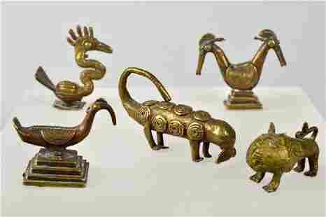 Ashanti Five Gold Weights