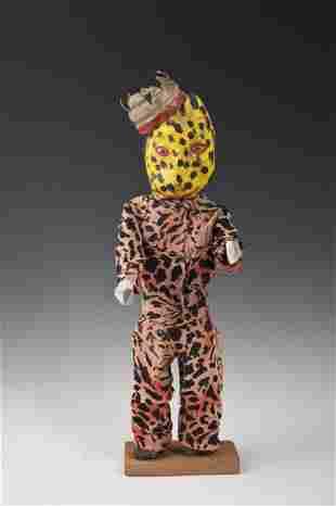 Wooden Tiger/Human Figure