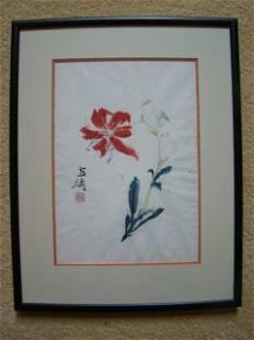 Chinese Painting by Wang Xuetao (1903-1982)