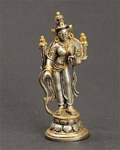 Nepalese Standing Tara Statue