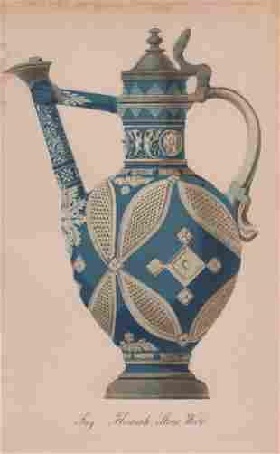 Jug. Flemish Stone Ware