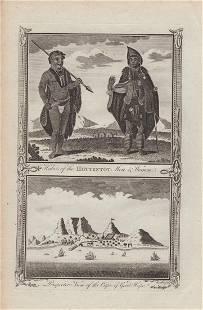 Habits of the Hottentot Men & Women, 1784