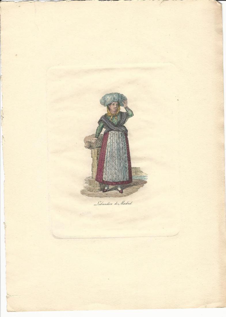 Labandra de Madrid, c1850