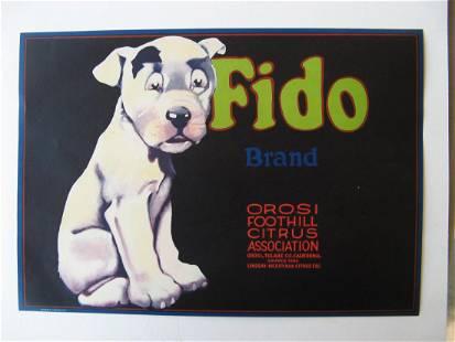 """""""Fido Brand"""" Lemons"""