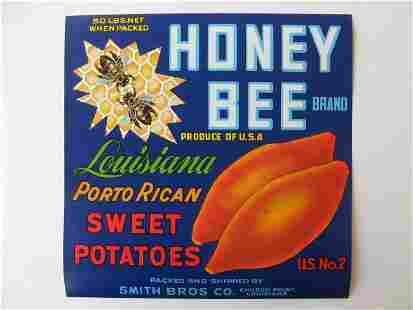 """Honey Bee"" Louisianna Sweet Potatoes"
