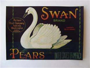 """""""Swan Brand"""" Pears"""