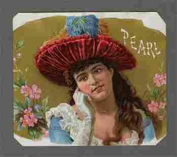Havana Beauty, Chromolithograph, 1890