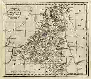 Map of Low Countries/Holland