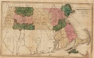 1839 Map of Massachusetts