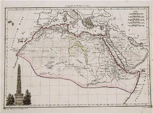 1812 Malte-Brun Map of Nothern Africa