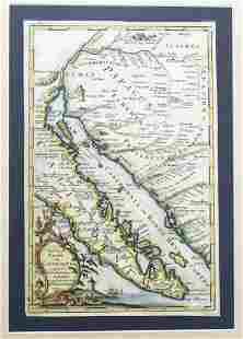 1757 Venegas Map of Baja California