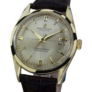 BREITLING   Trans Ocean Chronometre   1960