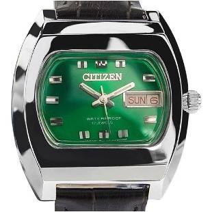 CITIZEN   Emerald Green 17 Jewels   1968