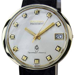 MOVADO | President Tempest Matic | 1960s