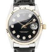 ROLEX   Oyster Datejust Diamond   1966