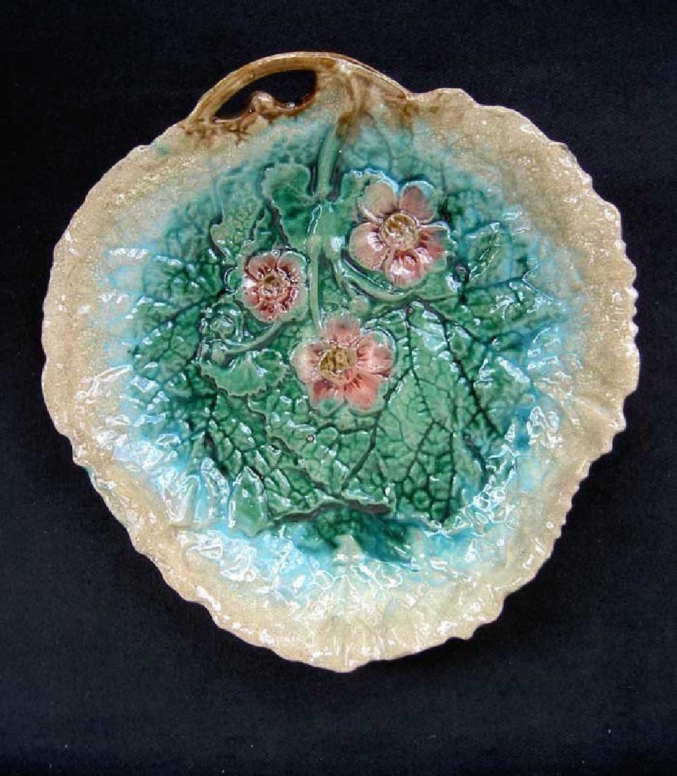 Victorian Majolica: A Begonia Leaf Bowl