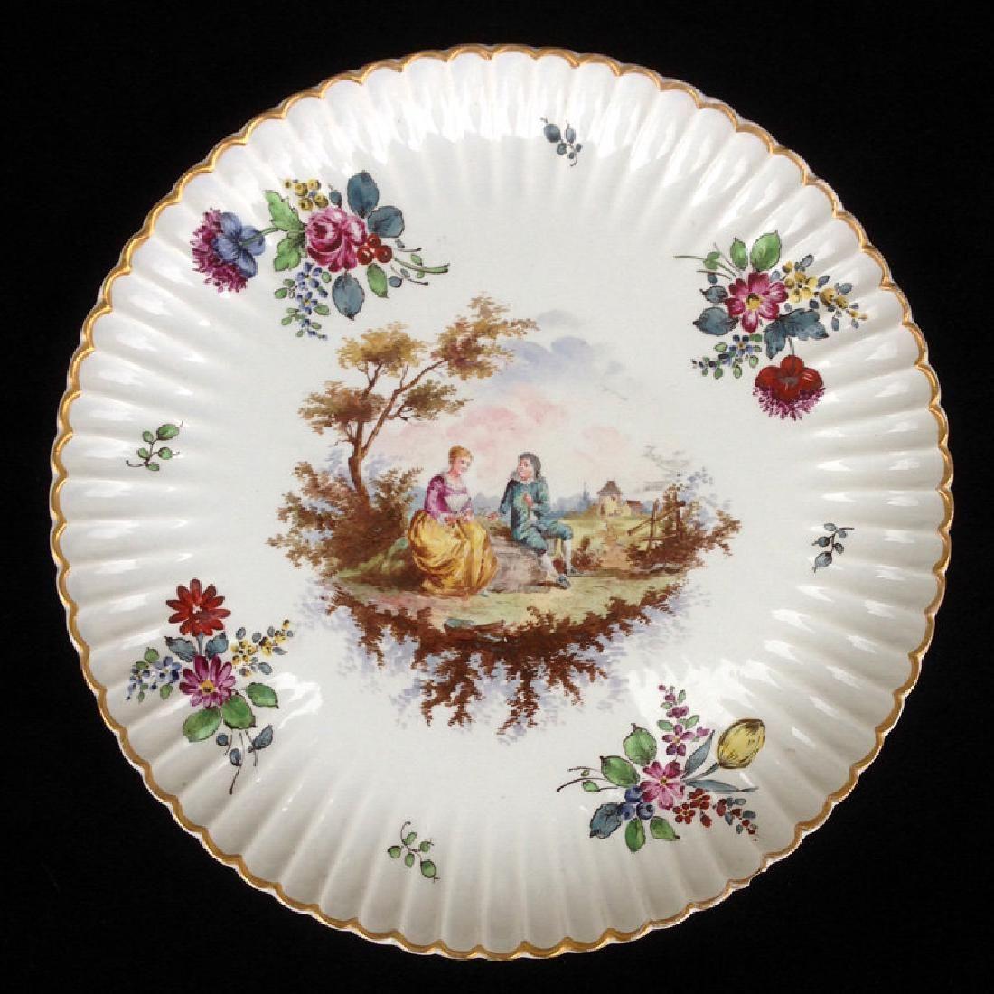 Late 19th C. Samson Hoechst Large Dish