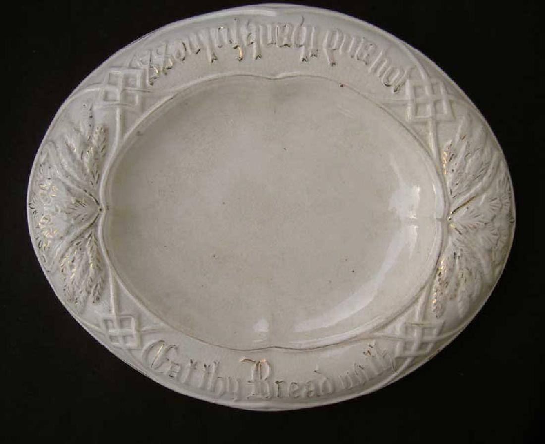 Victorian Bread Dish