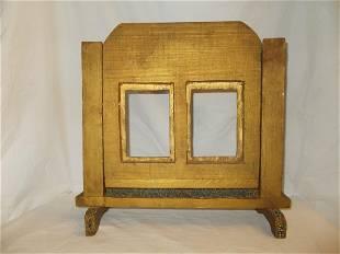 Carved Wood Dresser Stand