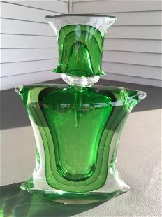 Formia Vetri Di Murano Glass Perfume Bottle