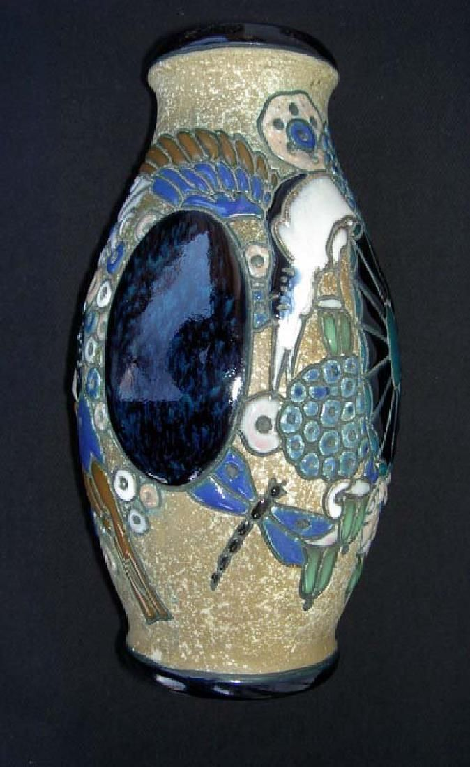 Amphora Art Deco Pottery Vase