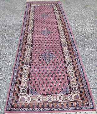 Indo Persian Kashan Runner Rug 2.5x8.1