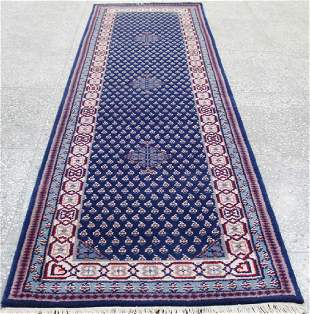 Indo Persian Kashan Runner Rug 2.8x9.11