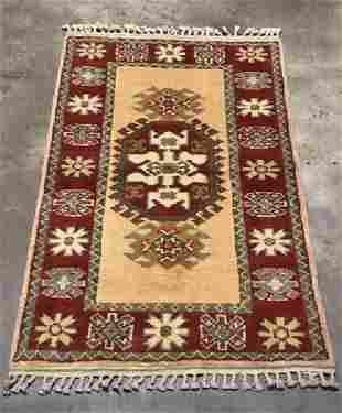 Handmade Turkish Konya, 2.9x4.7