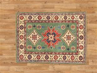 3 X 4 Beautiful Kazak Area Rug Made By Hand