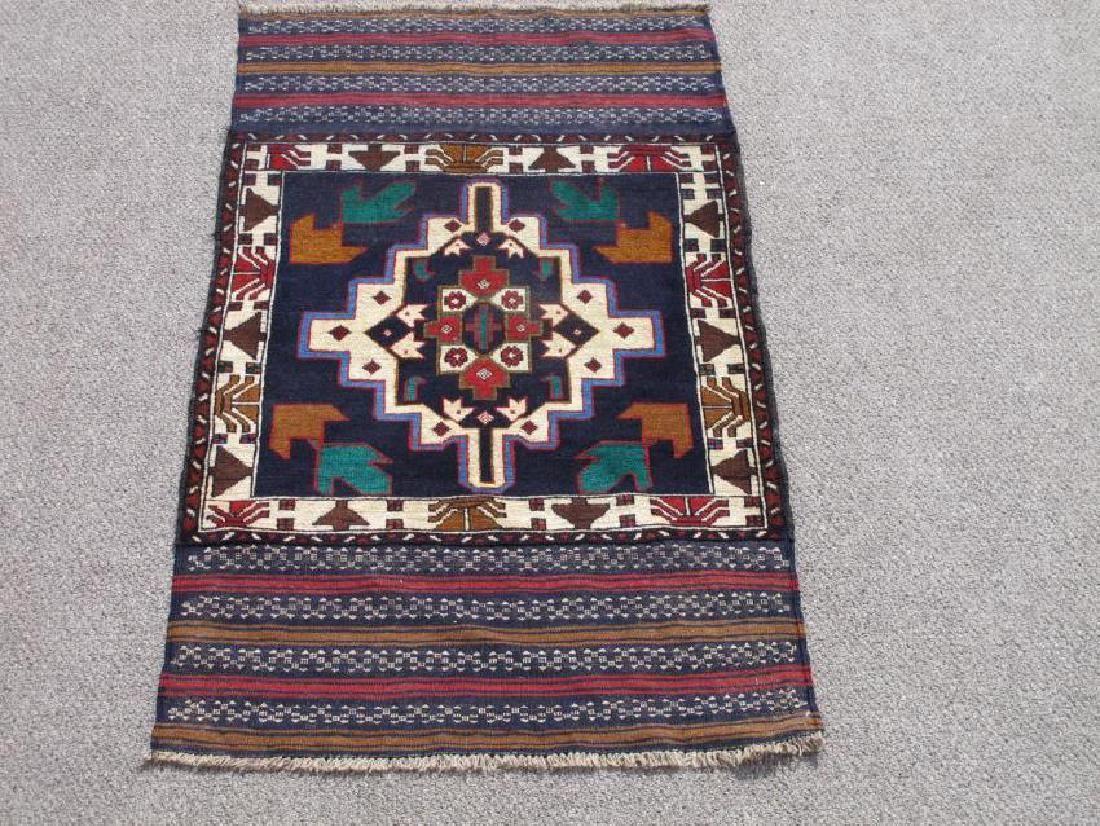 Wool On Wool Afghan Baluch 5x3