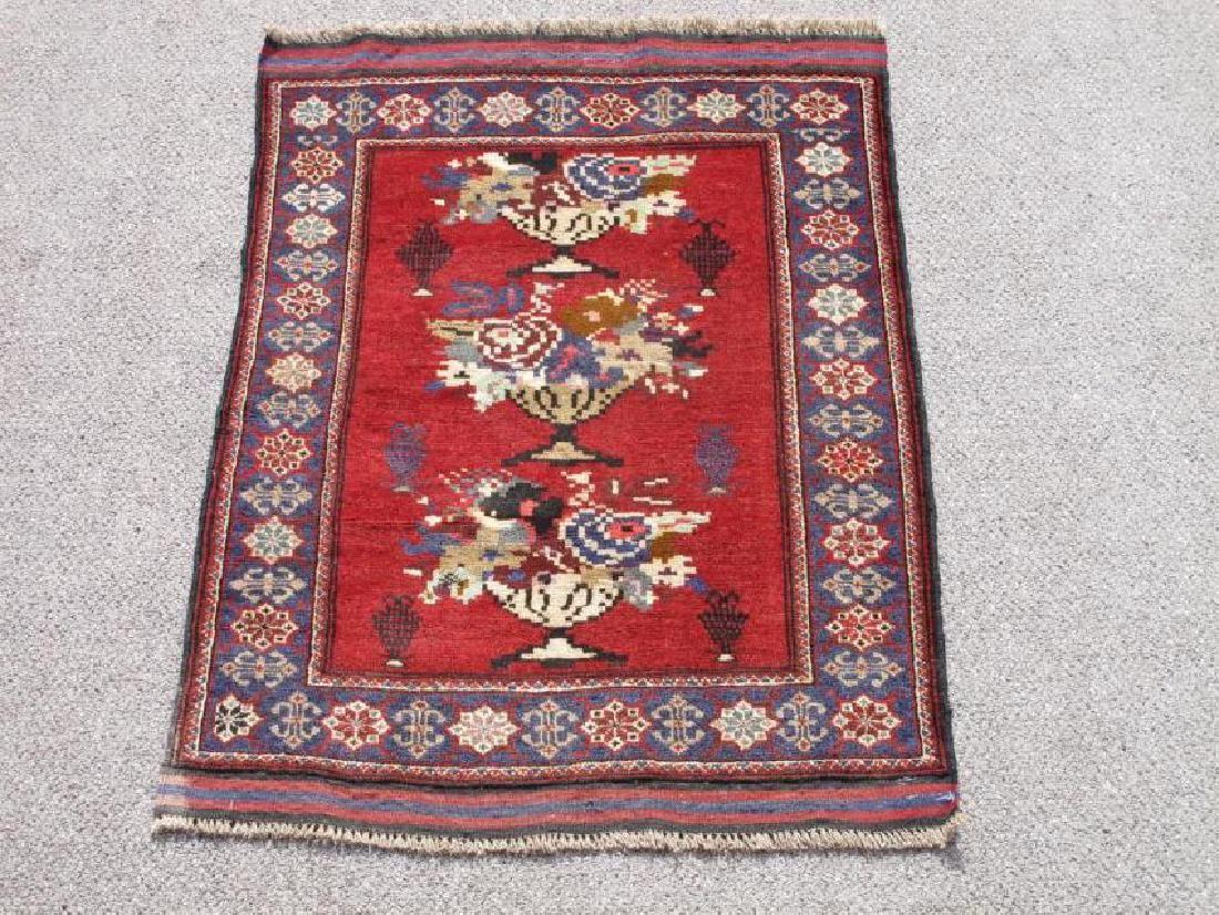 Wool On Wool Afghan Baluch, 4.3 X 2.10