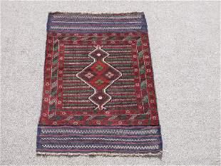 Wool On Wool Afghan Baluch 3x5