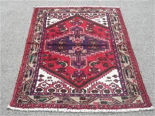 Hand Woven Authentic Persian Hamadan 3.2 X 4.7