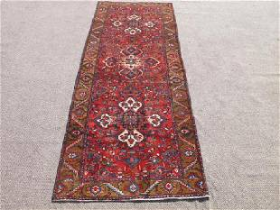Fine Quality Persian Tabriz Runner 11'